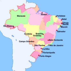 Literal translation of the map of Brazil: check the result!